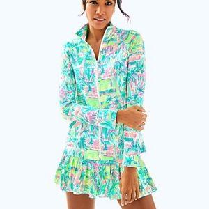 NWT Lilly Pulitzer Luxletic Hadlee Tennis Jacket